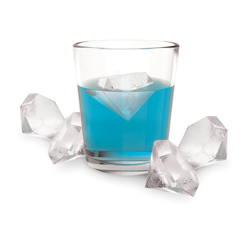 Iced Out™ Flexible Silicone Diamond Ice Cube Tray