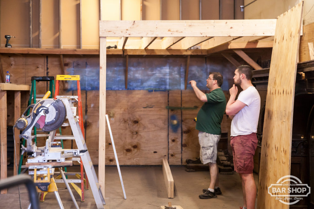 building loft storage