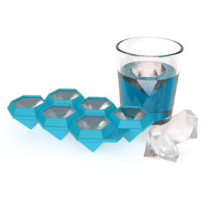 Diamond ice cube tray - fancy giant ice cubes