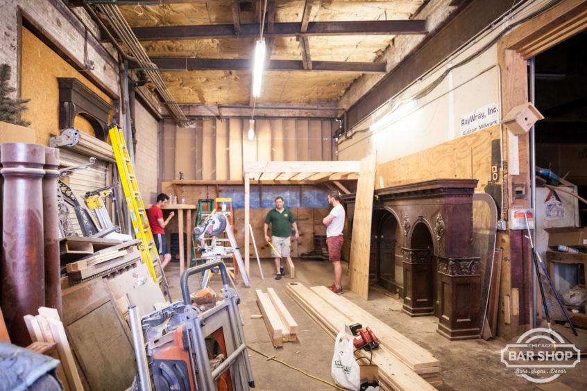 building loft storage at millshop chicago