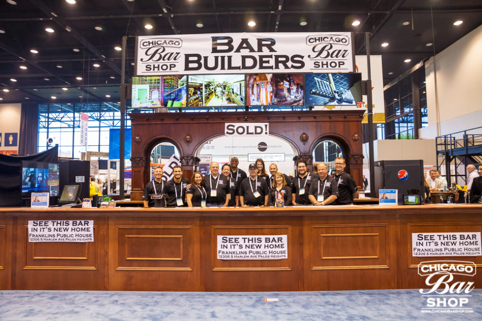 Photo of: Chicago Bar Builders at National Restaurant Show McCormick Place 2017